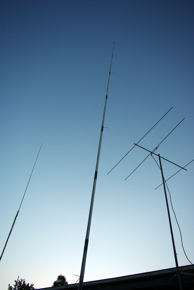 More of the antennas